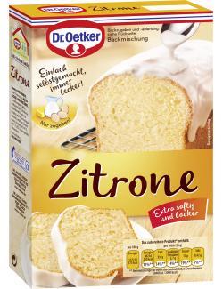 Dr. Oetker Zitronen Kuchen  (485 g) - 4000521852009