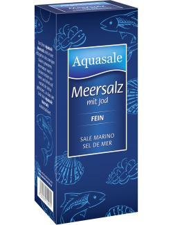 Aquasale Meersalz mit Jod fein  (500 g) - 4001475112607
