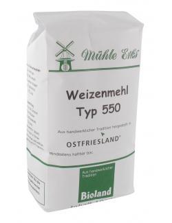 Mühle Erks Bioland Weizenmehl Typ 550  (1 kg) - 4038269002110