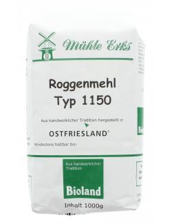 Mühle Erks Bioland Roggenmehl Typ 1150  (1 kg) - 4038269001045