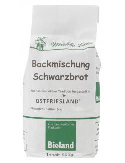 Mühle Erks Bioland Schwarzbrot  (800 g) - 4038269002004