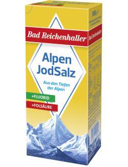 Bad Reichenhaller Jodsalz mit Fluorid + Folsäure  (500 g) - 4001475105609
