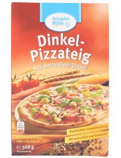Schapfenmühle Dinkel Pizzateig  (368 g) - 4000950115034