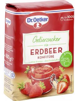 Dr. Oetker Gelierzucker für Erdbeer Konfitüre  (500 g) - 4000521003371