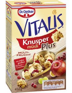 Dr. Oetker Vitalis Knusper Plus Multi Frucht  (450 g) - 4000521004606