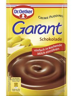 Dr. Oetker Garant Creme Pudding Schokolade  (100 g) - 4000521251000