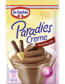 Dr. Oetker Paradies Creme Schokolade  - 4000521465001