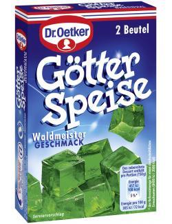 Dr. Oetker Götterspeise Waldmeister Geschmack  (23 g) - 4000521345303