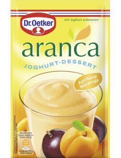 Dr. Oetker Aranca Joghurt-Dessert Aprikose-Maracuja  (78 g) - 4000521458607