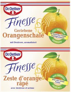 Dr. Oetker Finesse Geriebene Orangenschale  (12 g) - 4000521145903