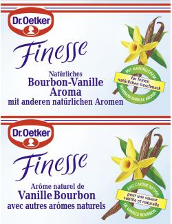 Dr. Oetker Finesse Natürliches Bourbon-Vanille Aroma  - 4000521146917
