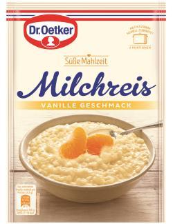 Dr. Oetker Süße Mahlzeit Milchreis Vanille-Geschmack  (125 g) - 4000521770808