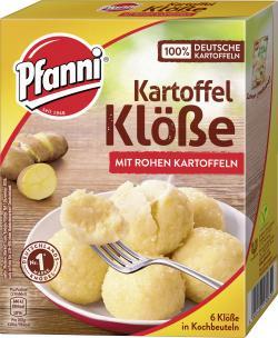 Pfanni Kartoffel Klöße in Kochbeuteln  (6 St.) - 4000400130655
