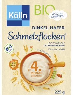 Kölln Schmelzflocken Dinkel-Hafer  (225 g) - 4000540002546