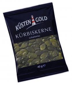 Küstengold Kürbiskerne schalenlos  (40 g) - 4250426210866