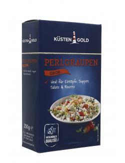 Küstengold Perlgraupen grob  (250 g) - 4250426201987