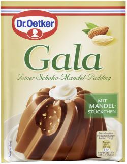 Dr. Oetker Gala Feiner Schoko-Mandel-Pudding  (110 g) - 4000521225407