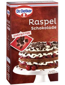 Dr. Oetker Raspel Schokolade Zartbitter  (100 g) - 4000521006549