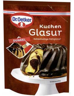 Dr. Oetker Kuchen Glasur dunkel  (125 g) - 4000521006846
