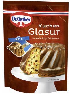 Dr. Oetker Kuchen Glasur hell  (125 g) - 4000521006884
