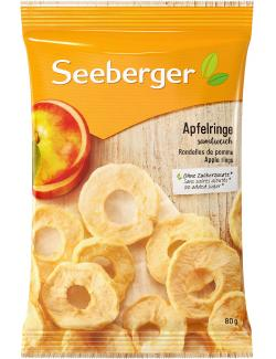 Seeberger Apfelringe  (80 g) - 4008258403020