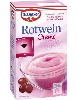 Dr. Oetker Creme Rotwein  (203 g) - 4000521005412