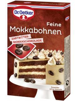 Dr. Oetker Feine Mokkabohnen Zartbitter-Mokkaschokolade  (75 g) - 4000521006587