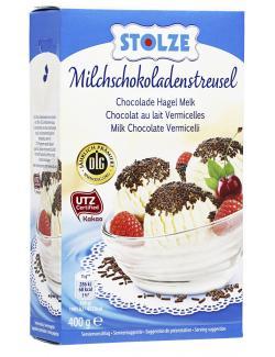 Stolze Milchschokoladenstreusel  (400 g) - 4038838140021