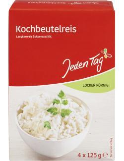 Jeden Tag Spitzenlangkorn Reis  (4 x 125 g) - 4306188046783