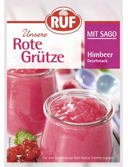 Ruf Rote Grütze mit Sago Himbeer Geschmack  (129 g) - 40352282