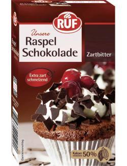 Ruf Raspel Schokolade Zartbitter  (100 g) - 4002809004285