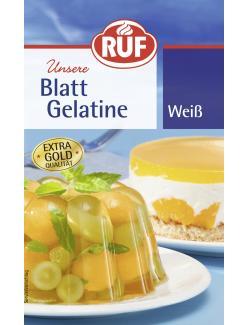 Ruf Blattgelatine weiß  (20 g) - 4002809001260