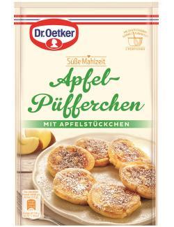 Dr. Oetker Süße Mahlzeit Apfel-Püfferchen  (152 g) - 4000521775506