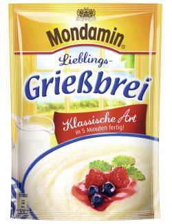 Mondamin Lieblings-Grießbrei klassische Art  (89 g) - 4046800110750