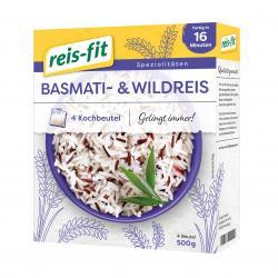 Reis-fit Basmati & Wildreis  (500 g) - 4006237090131