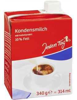 Jeden Tag Kondensmilch 10%  (340 g) - 4306188724322