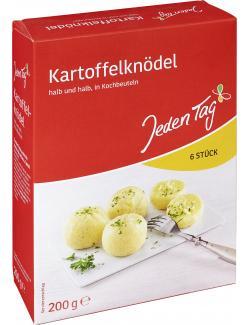 Jeden Tag Kartoffelknödel in Kochbeuteln halb und halb  (200 g) - 4306188047070