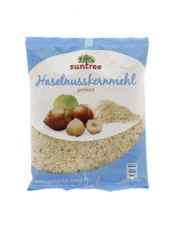 Suntree Haselnusskernmehl geröstet  (200 g) - 4009012006914