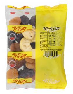 Ubina Mischobst getrocknet  (250 g) - 4002248223131