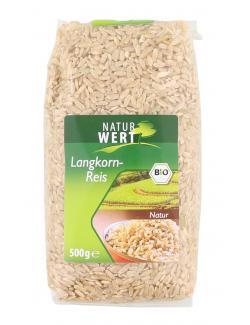 NaturWert Bio Langkornreis Natur  (500 g) - 4019339121085