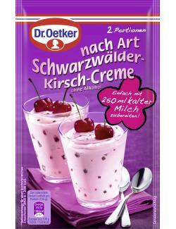 Dr. Oetker Cremepulver nach Art Schwarzwälder-Kirsch  (59 g) - 4000521008017