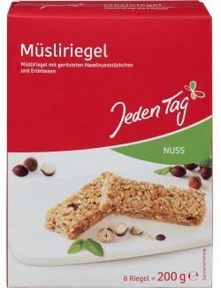 Jeden Tag Müsliriegel Nuss  (200 g) - 4306188047254