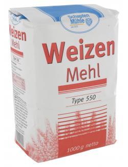 Schapfenmühle Weizenmehl Type 550  (1 kg) - 4000950062307