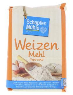 Schapfenmühle Weizenmehl dunkel Type 1050  (1 kg) - 4000950006035