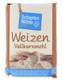 Schapfenmühle Weizen Vollkornmehl  (1 kg) - 4000950006127