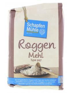 Schapfenmühle Roggenmehl Type 997  (1 kg) - 4000950006042