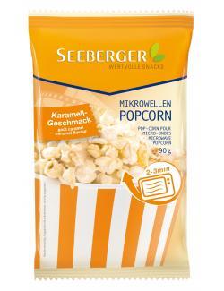 Seeberger Mikrowellen Popcorn Karamell  (100 g) - 4008258525005