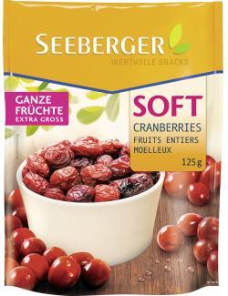 Seeberger Soft-Cranberries  (125 g) - 4008258296004