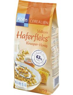 Kölln Vollkorn Haferfleks Knusper-Honig  (375 g) - 4000540001013