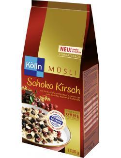Kölln Müsli Schoko Kirsch  (1,70 kg) - 4000540003277